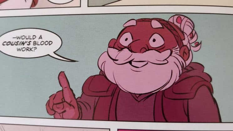 "Merle from Adventure Zone graphic novel: ""Here There Be Gerblins"""