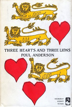 Three Hearts and Three Lions, 1st edition cover, 1961
